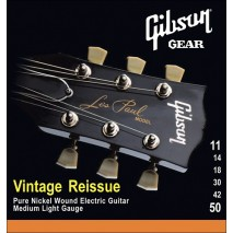Gibson SEG-VR11 Vintage Reissue elektromos húrok. 011 -0,50