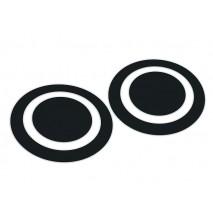 Kickport Black Eye D-pad bőrvédő matrica