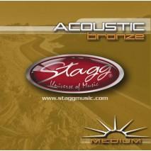 Stagg AC-356-BR akusztikus gitárhúr készlet