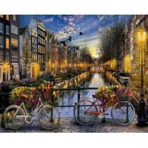 Festés számok szerint Amszterdam