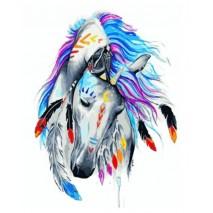 Festés számok szerint Indián ló