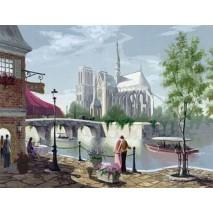Festés számok szerint Notre-Dame 2