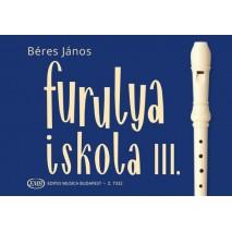 Béres János: Furulyaiskola 3