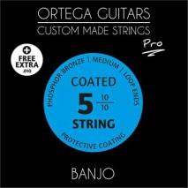Ortega BJP-5 banjo húrkészlet