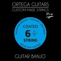 Ortega GBJP-6 Banjo húrkészlet