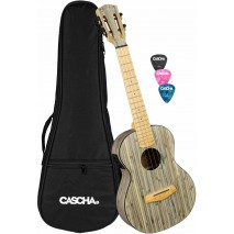 Cascha HH-2317E Bamboo elektroakusztikus tenor ukulele
