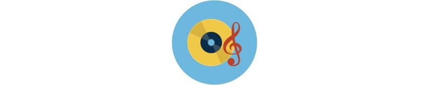 Zenei kiadványok, oktató könyvek, CD, DVD