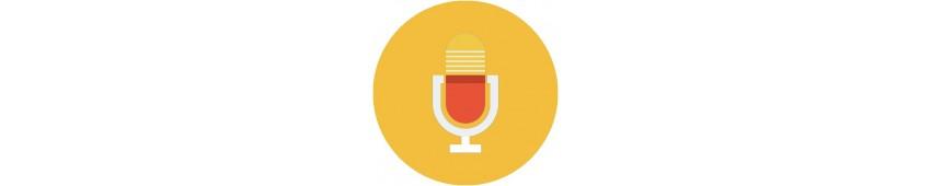 Mikrofonállvány alkatrészek